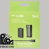 شارژر ایکس باکس وان مدل Charge and Play Kit 5 in 1