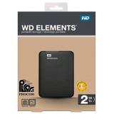 هارد دیسک اکسترنالWD ELEMENTS 2 TB