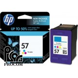 HP 57 رنگي