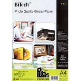 کاغذ گلاسه ی bitech 135gm